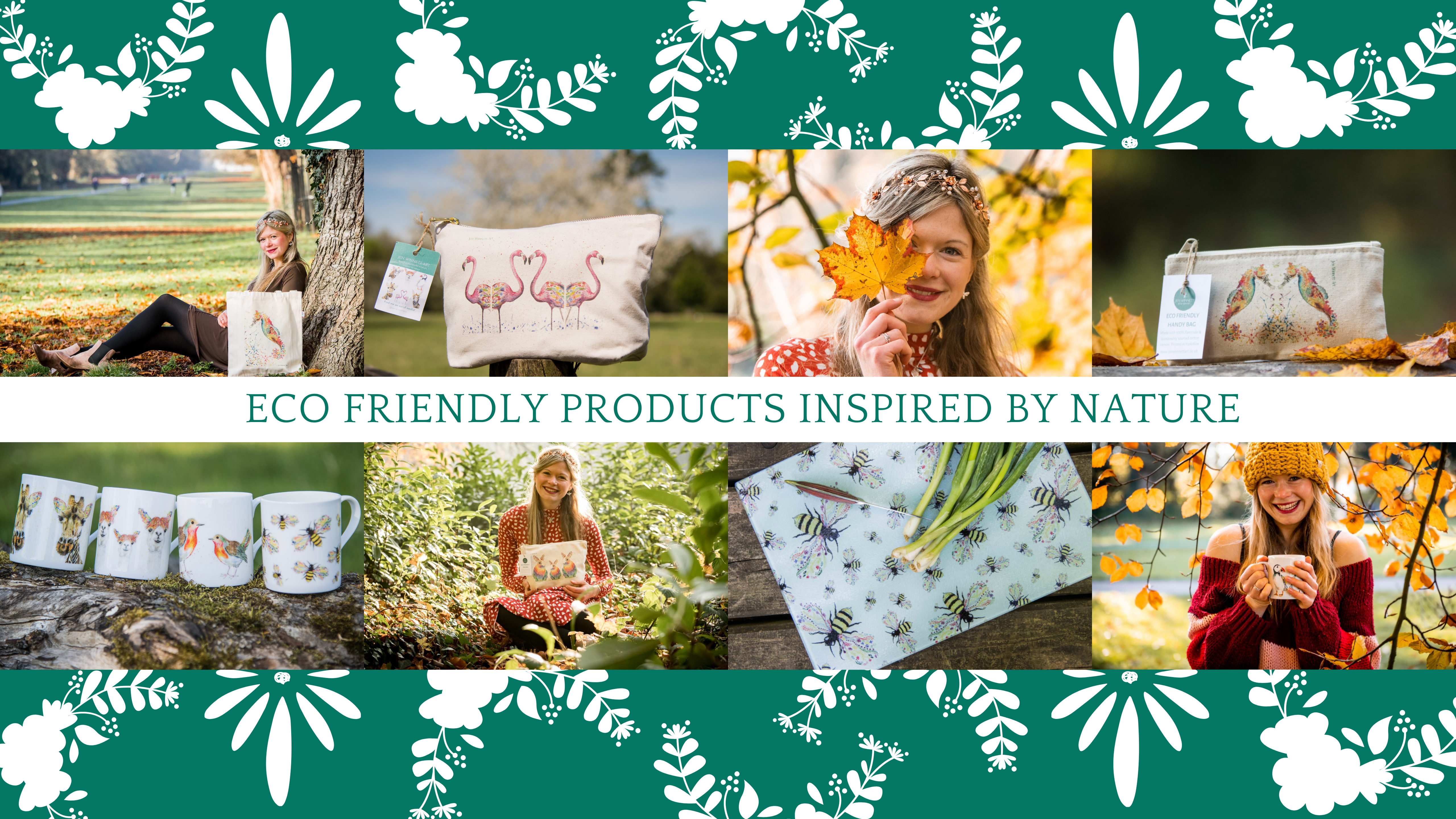 beautiful eco friendly products inspired by nature